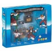 Figurina Papo-Cutie pirati 5 figurine