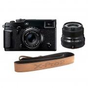 Fujifilm X-Pro2 + XF 35/2,0 + XF 23/2,0 + Läderrem