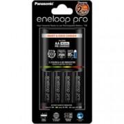 Incarcator Panasonic cu 4 acumulatori Eneloop AA R6 PRO 2500mAh Incarcare rapida
