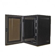Gabinete de pared Northsystem NORTH010, 12UR, negro S/E