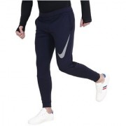 Nike Navy Polyester Track pants for Men