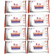 SHI BED BATH TOWEL VITAMIN-E ENRICHED PACK OF 8 PACKS X 10 PCS EACH (80 WIPES)