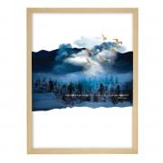 Dekoria Obraz Imagination 30x40cm gold&navy, 30 × 40 cm
