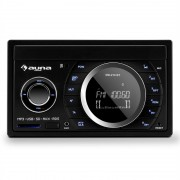 AUNA MD-210 BT RDS радио за кола BLUETOOTH FM USB SD AUX MP3 микрофон 2-DIN 4X75W (TC11-MD-210 BT RDS)