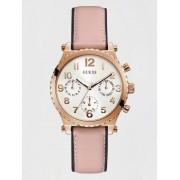 Guess Multifunctioneel Horloge Leer - Roze - Size: T/U
