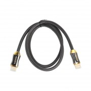 4K Ultra HD Cable HDMI 2.0 1-15m De Cable Macho Chapado En Oro 3D Audio Video Cables Negro