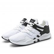 Zapatillas Hombre Para Corre Y Casuales - Negro Y Blanco