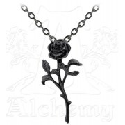 collier The Romance Of The Noire Rose - ALCHEMY GOTHIC - P695