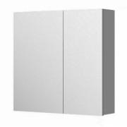 Dulap suspendat cu oglinda, Aquaform Amsterdam, antracit, 60x60 cm -0408-202011