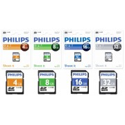 Card memorie SDHC, clasa 10, PHILIPS - 8GB