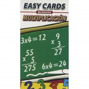 EASY CARDS BILINGUES MULTIPLICATION / MULTIPLICACION