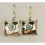 Cercei argint opal E1259D (Piatra: opal imperial, Categorie: cercei)