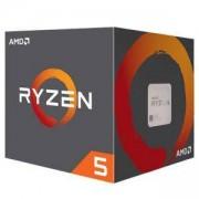 Процесор AMD Ryzen 5 2600, AM4, 6-Core 3.4 GHZ (3.9 GHZ Turbo), 19MB кеш, Wraith Stealth Cooler, YD2600BBAFBOX