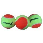 Drop Shot beach tennisballen geel/oranje 3 stuks