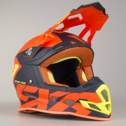 FXR Crosshjälm FXR Boost CX Prime Orange-Blå-HiVis