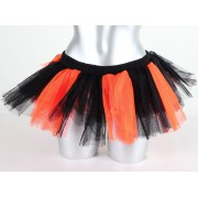 POIZEN INDUSTRIES női szoknya - Razer Tutu - Black/N.Orange