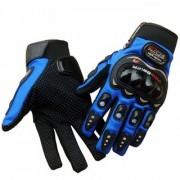 G-MTIN Blue Pro Biker Riding Hand Glove (XXL Size)
