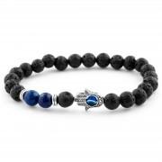 Neshraw Bracelet lave bleue