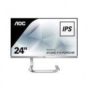 MONITOR LED IPS 23.8 AOC PDS241 NEGRO/PLATA