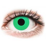 Maxvue Vision ColourVUE Crazy Lens - nedioptrické (2 čočky) Emerald (Green)