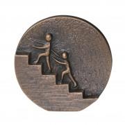 "Relief bronz ""Impreuna ajungem in TOP"""