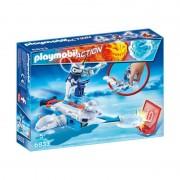 Playmobil ice-robot con space-jet lanciadischi 6833