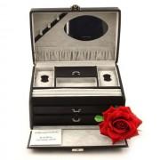 Cutie bijuterii de lux Elegance Black by Friedrich - Made in Germany