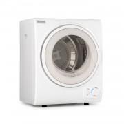 Klarstein Jet Set 2500, сушилня за дрехи, сушилня с изсмукване на влажния въздух, 850W, TEE C, 2,5 кг, 50 см, бял (MNW8-Jet set 2500-WH)