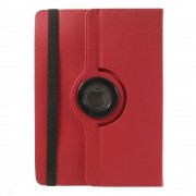 Javu - Medion Lifetab HD S10345 Hoes - Rotatie Cover Denim Rood