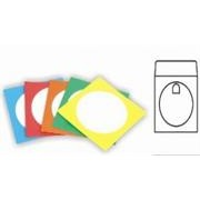 EBox 100PC Paper Cd Sleeves - Multicolours Paper