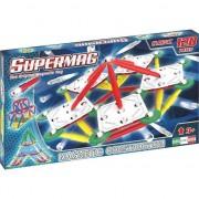 Set de constructie magnetic Supermag - Classic primary, 120 piese