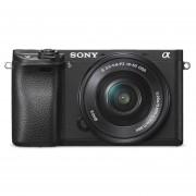 Cámara Sony Ilce-6300l C/montura E Sensor Aps-c 4k 24,2 Mp
