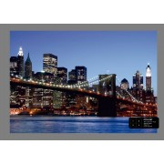 Ag Design Brooklyn Bridge Fotobehang 4D (AG Design)