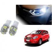 Auto Addict Car T10 5 SMD Headlight LED Bulb for Headlights Parking Light Number Plate Light Indicator Light For Chevrolet Sail UVA