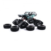KidzFan Crawler High Speed Off-road Vehicle Climber Cross Country Dual Type Wheels Snow and Rubber Rechargeable