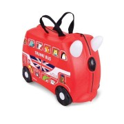 Trunki Valigia cavalcabile per Bambini - Boris London Bus Red