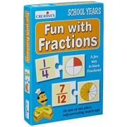 Creative Educational Aids 0695 Fun with Fractions