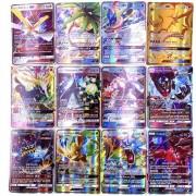 GX MEGA Shining Cards Game Battle Carte 200 Pcs 25 50pcs 100pcs Trading Cards Game Children Pokemons Toy