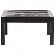 Tine K Home Sideboard i accoya behandlat trä, 60 x 60 x H 32 cm, svart Tine K Home