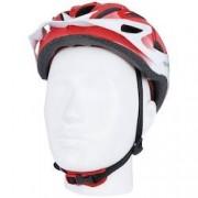 Damatta Capacete para Bike Damatta KJ201 - Adulto - VERMELHO/BRANCO