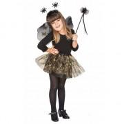 Merkloos Halloween kostuum Heksenset zwarte spin voor meisjes