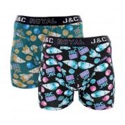 J-en-C J&C heren boxer 2 pak 30063-S