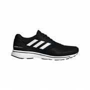 adidas Women's Adizero Adios 4 Running Shoes - Black/White - US 7/UK 5.5 - Black/White