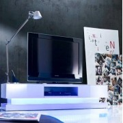 tv lowboard incl colorful LED-verlichting