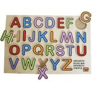 BSM Inbouwset ABC puzzel kleur - Gemengd - Individueel geleverd