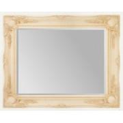 Cream Swept 48x36 Bevelled Mirror