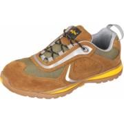 Pantofi de protectie Top Defender S1 SRA culoarea Maro marimea 43