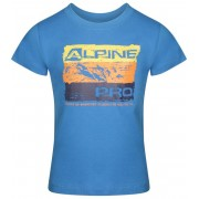 ALPINE PRO MATTERO 2 Dětské triko KTSR239697PB brilliant blue 152-158