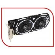 Видеокарта MSI GeForce GTX 1060 1544Mhz PCI-E 3.0 3072Mb 8008Mhz 192 bit DVI 2xHDMI HDCP GTX 1060 ARMOR 3G OCV1
