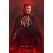 Star Wars Gwiezdne Wojny – Ostatni Jedi – bohaterowie - plakat premium